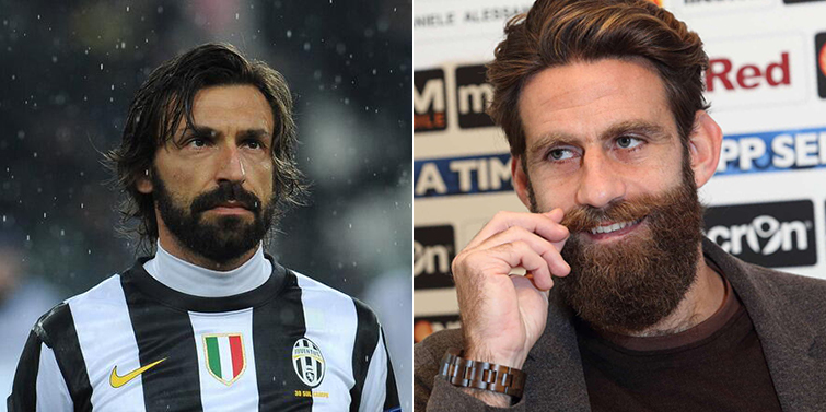 Andrea Pirlo And S Beard