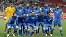 Greece's football squad
