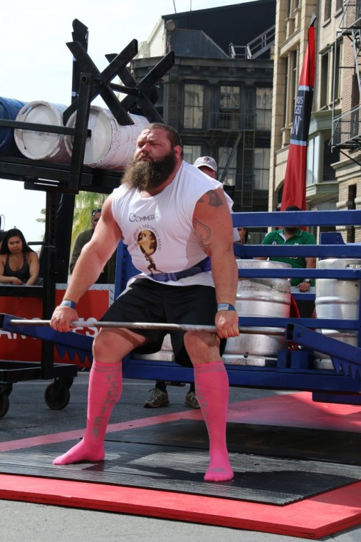 1. Robert Oberst in the deadlift